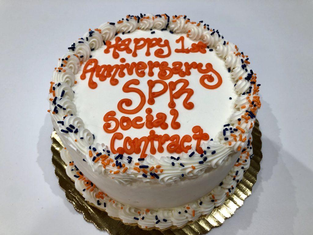 Sabo PR Social Contract Cake