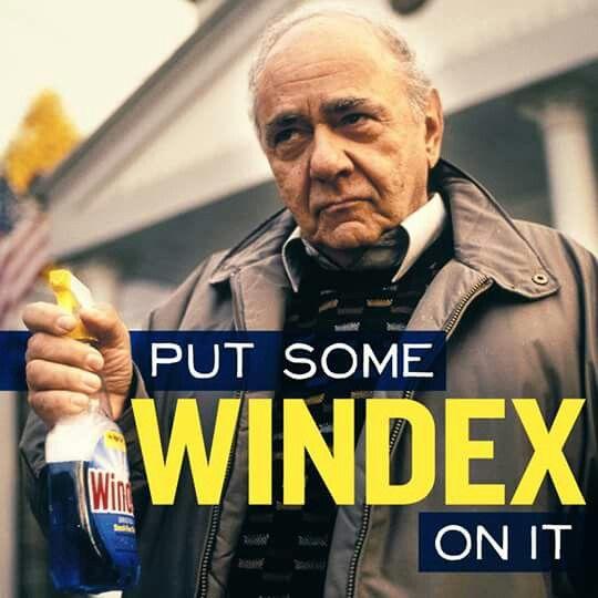 Put some windex on it meme